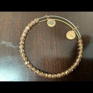 Alex&Ani bracelet w/ brown crystals.